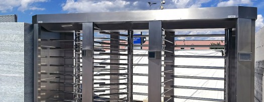 Full-height turnstiles