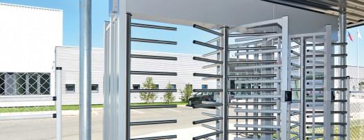 Full-height gates